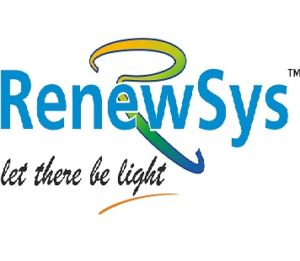 Renewsys solar panel manufacturing company in India